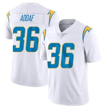 Men's Los Angeles Chargers Jahleel Addae White Limited Vapor Untouchable Jersey By Nike