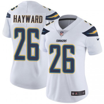Women's Los Angeles Chargers Casey Hayward White Limited Jersey By Nike