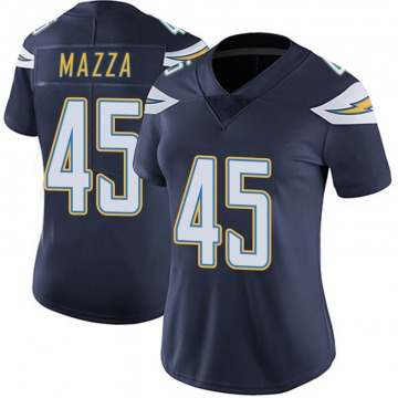 Women's Los Angeles Chargers Cole Mazza Navy Limited Team Color Vapor Untouchable Jersey By Nike