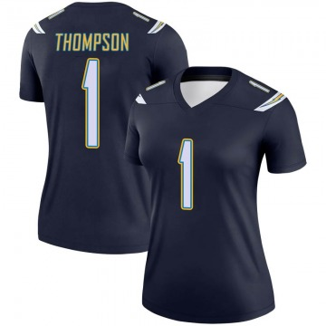 Women's Los Angeles Chargers Trevion Thompson Navy Legend Jersey By Nike
