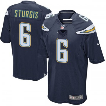 Youth Los Angeles Chargers Caleb Sturgis Navy Game Team Color Jersey By Nike