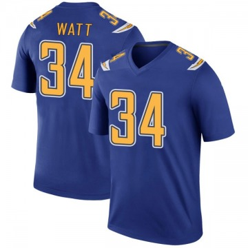 Youth Los Angeles Chargers Derek Watt Royal Legend Color Rush Jersey By Nike