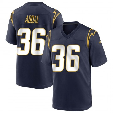 Youth Los Angeles Chargers Jahleel Addae Navy Game Team Color Jersey By Nike