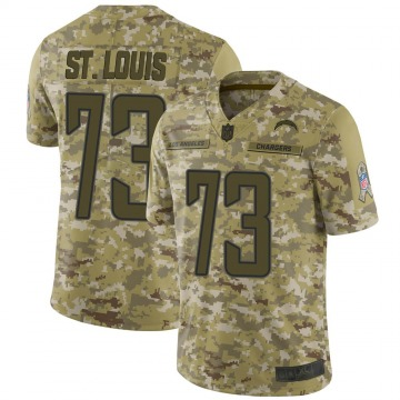 Youth Los Angeles Chargers Tyree St. Louis Camo Limited 2018 Salute to Service Jersey By Nike