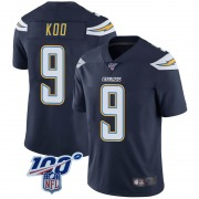 Youth Los Angeles Chargers Younghoe Koo Navy Limited 100th Vapor Jersey By Nike